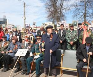Прошел митинг, посвященный 73-ей годовщине Победы в ВОВ